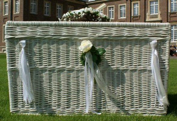 Beispiel: Hochzeitstauben (Korb), Foto: Ihre Hochzeitstauben.