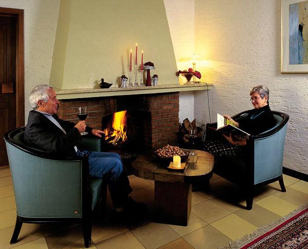 Beispiel: Kamin, Foto: AKZENT Hotel Surendorff.