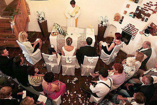 Foto: Trauung und Hochzeitsfeier