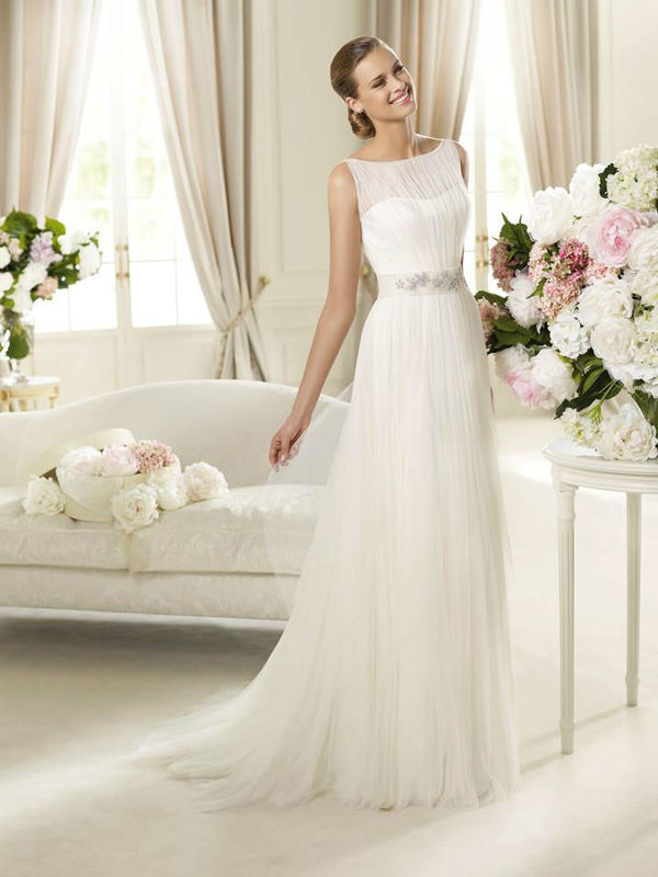 Beispiel: Brautkleider für jeden Geschmack, Foto: Brautsalon Flossmann.