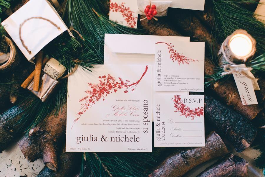 Le Ninette: coordinato grafico Natale