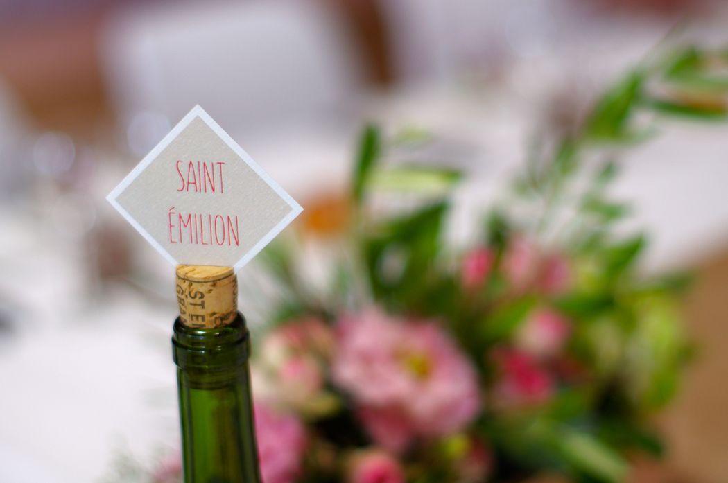 Mariage sur le thème du vin