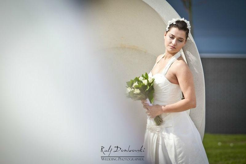 Beispiel: Portrait der Braut, Foto: Ralf Dombrowski Wedding Photographer.