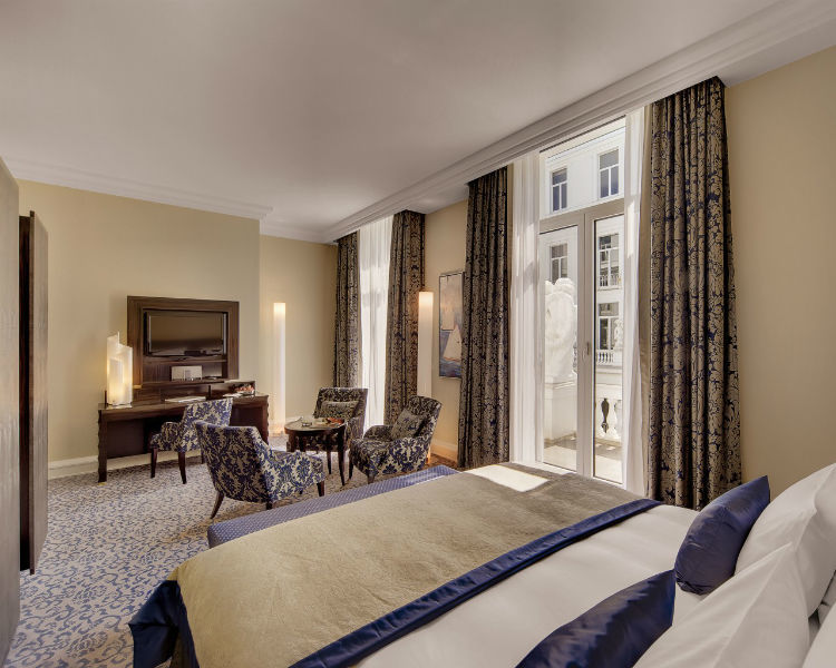 Beispiel: Suite Deluxe, Foto: Hotel Atlantik Kempinski.