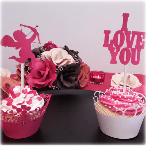 Topes para cupcakes