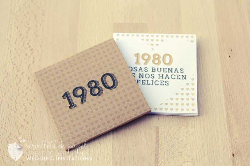 Invitación 1980 E&C