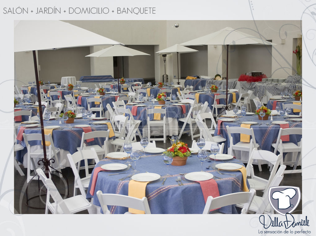 Salones de eventos para bodas en San Luis Potosí - Foto Villa Danieli