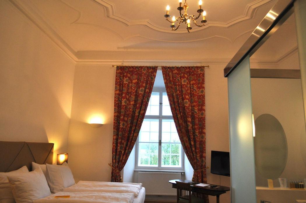 Luxus Zimmer, Foto: Schlosshotel Mailberg.