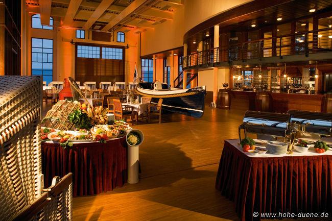 Beispiel: Restaurant, Foto: www.hohe-duene.de.