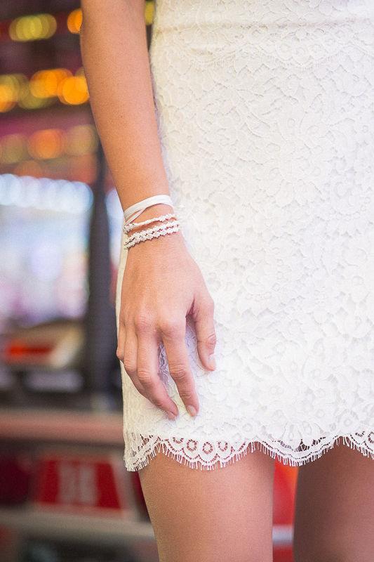 Photo : Sylvain Bouzat Modèle : Sarah A. Gimenez Robe de mariée : Lauren créations