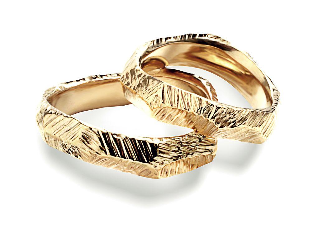 Fedi Matrimoniali Efrem Guidi Oro giallo 750 LGBT community gay Wedding rings Italy Milano Brera Mod Tigani