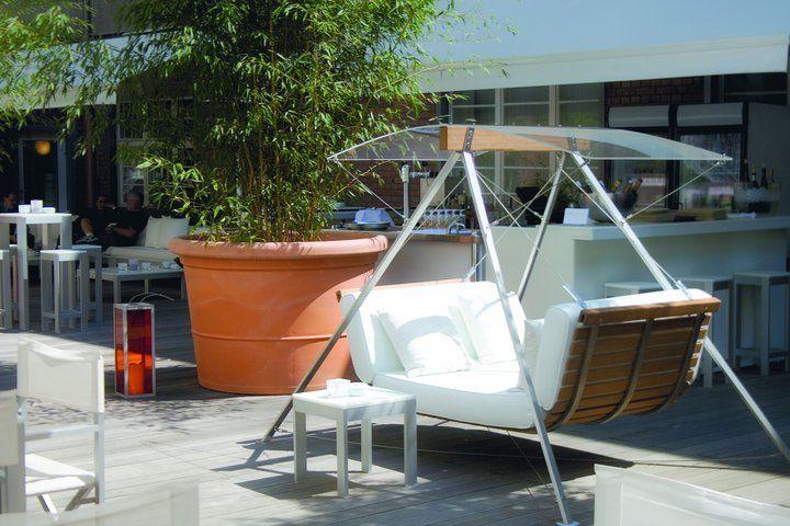 Beispiel: Sommergarten, Foto: Ellington Hotel.