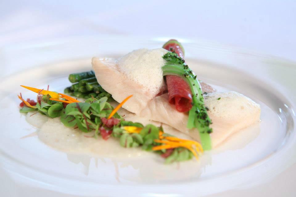 Beispiel: Speisen, Foto: Traube Romantisches Hotel & Restaurant.