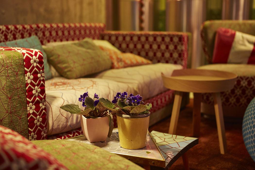 Liebevoll dekorierte Details im Restaurant