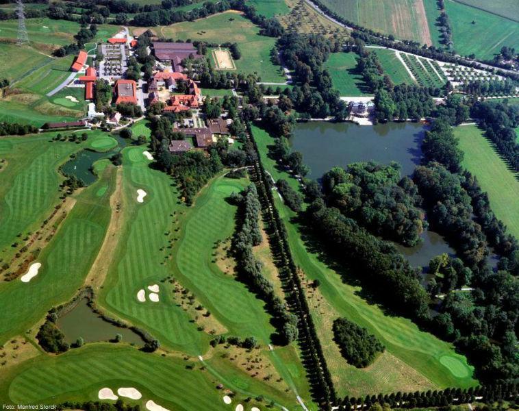 Beispiel: Luftaufnahme, Foto: Schlosshotel Monrepos.