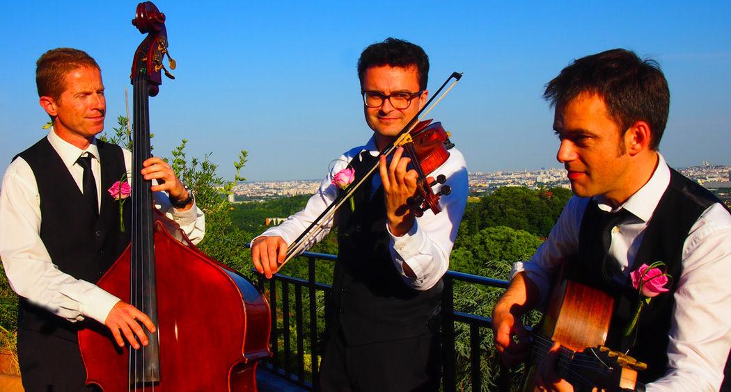 Trio jazz Just for Cab' Paris 2015