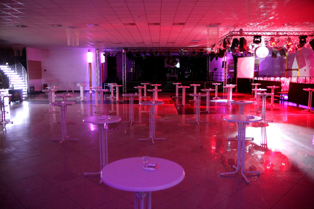 Beispiel: Saal 1 - Tanzfläche, Foto: Elite Event Center.