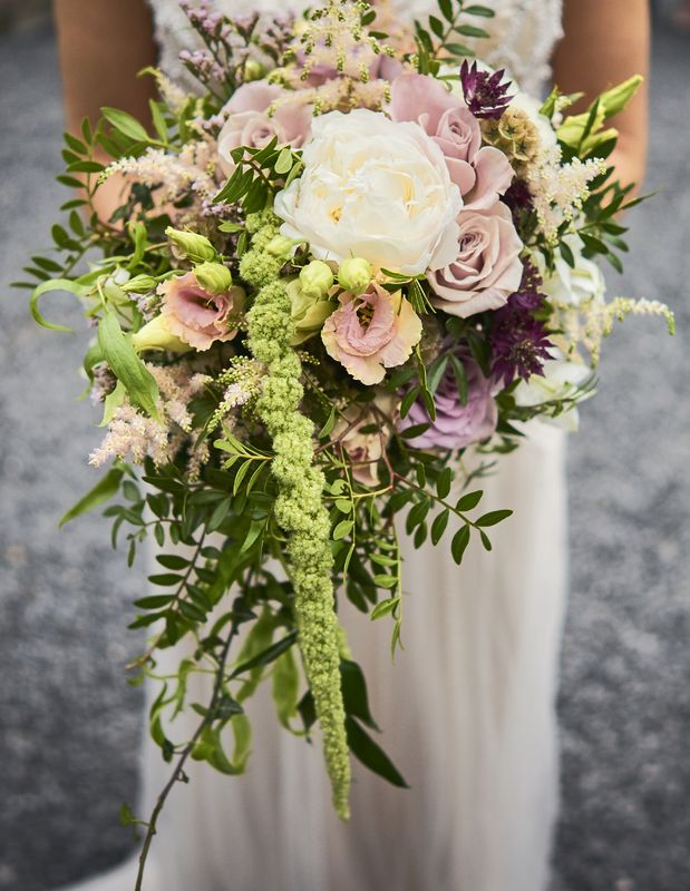 Bouquet de mariée nature woodland