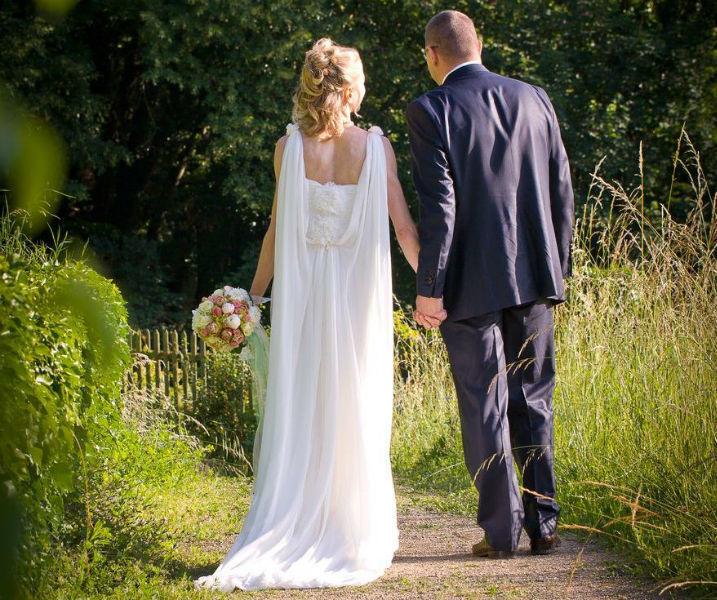 Beispiel: Brautpaar, Foto: Goldschmidts Park.