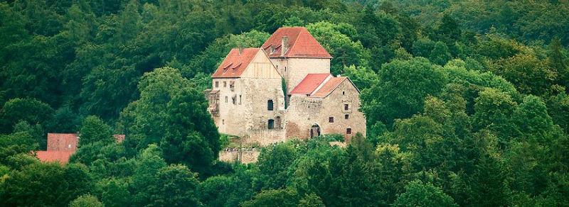 Beispiel: Blick auf die Burg, Foto: Tannenburg.
