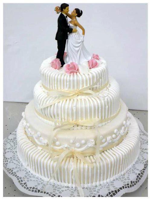 Beispiel: Hochzeitstorte, Foto: Feuser & Boegel.