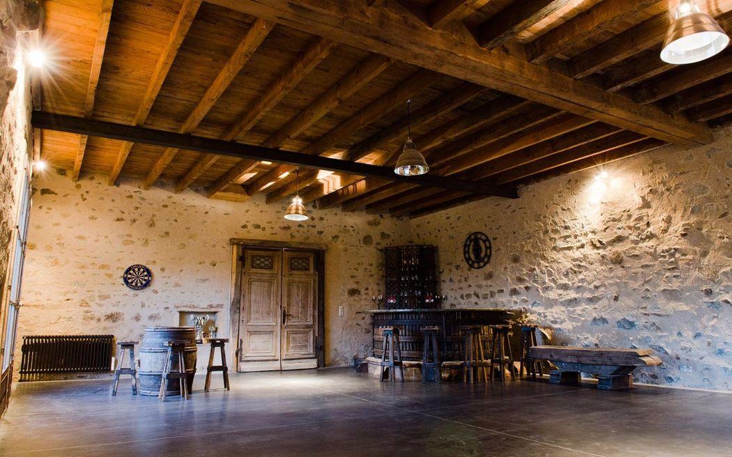 Domaine de Vavril - La salle de l'ancien pressoir