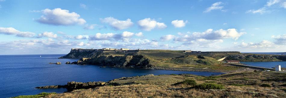 La mola de Menorca