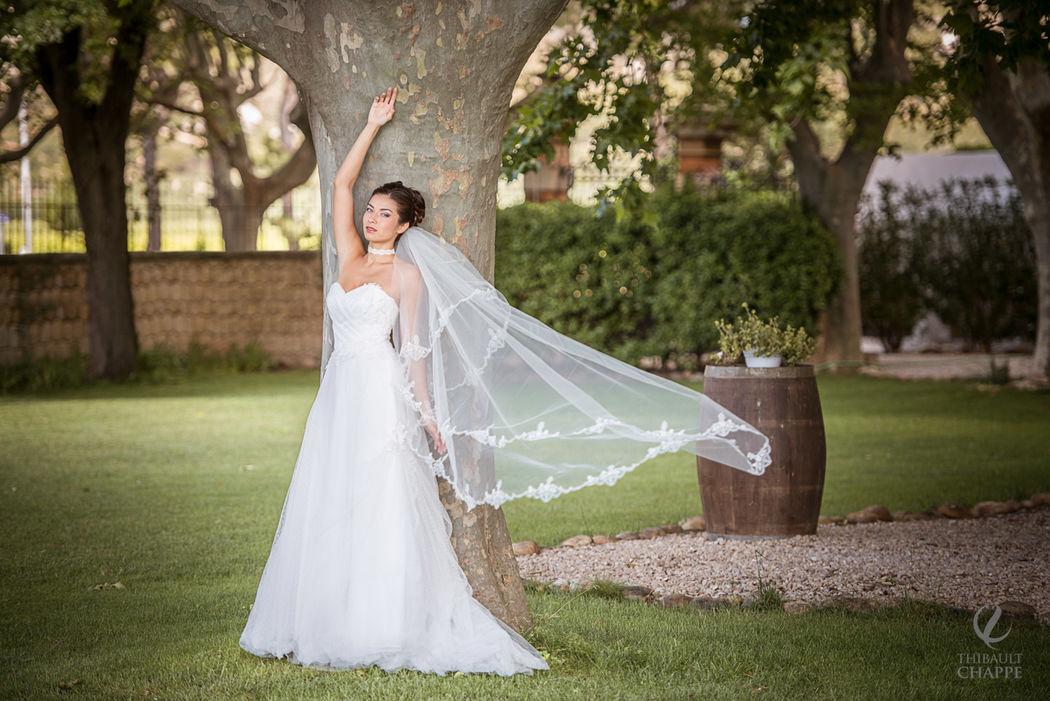 robe FARANDOLE - collection Mariées de Provence 2017