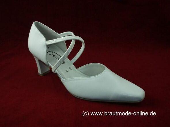 Beispiel: Brautschuh, Foto: Brautmode Online.