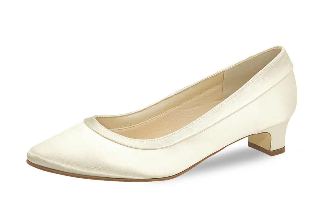 Beispiel: Der Schuh für Ihren großen Tag, Foto: Verasposa Brautschuhe.