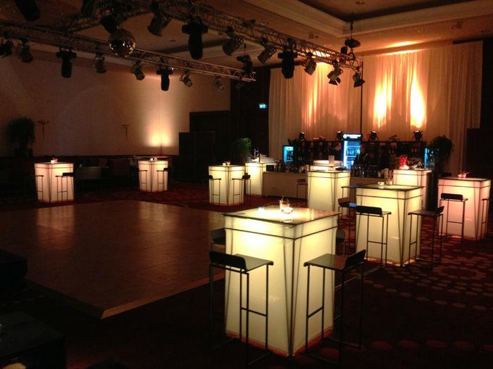 Beispiel: Raumbeleuchtung, Foto: DJ Maiki.