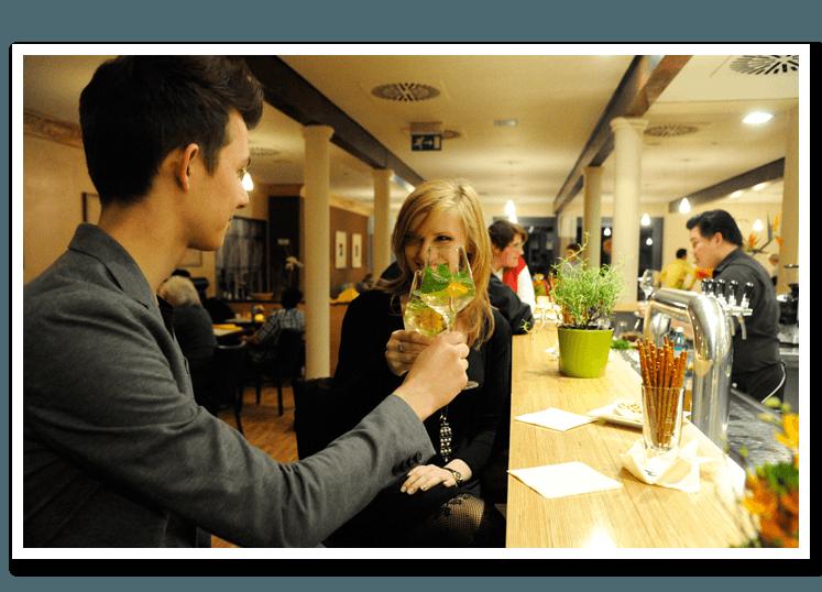 Beispiel: Impression Restaurant, Foto: LebensLust.