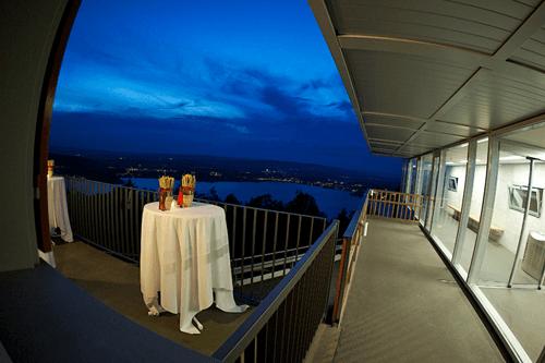 Beispiel: Apero auf der Terrasse, Foto: Restaurant Zugerberg.