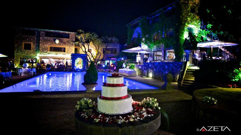 Taglio della torta- Borgo della Merluzza - Azeta foto