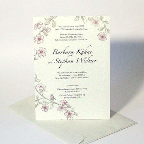 Beispiel: Drucksachen für Ihre Hochzeit, Foto: Karten und mehr.