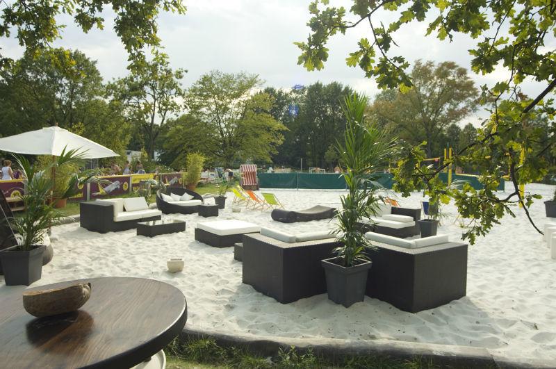 Beispiel: Außenanlagen, Foto: BeachCenter Hamburg.