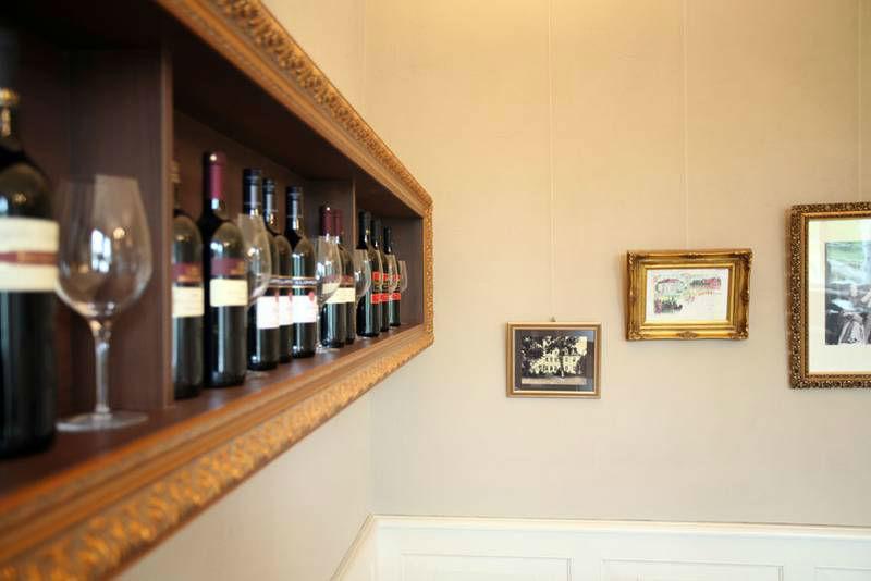 Beispiel: Impressionen aus dem Restaurant, Foto: Schloss Grube.