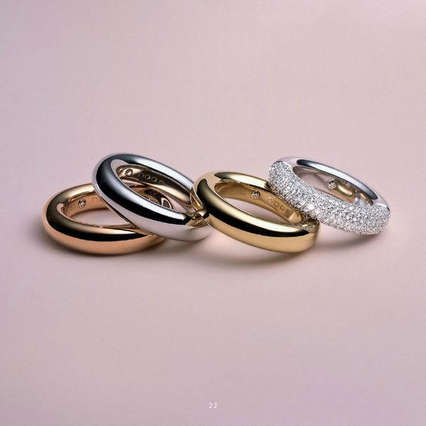 Beispiel: Trauringe von Markenherstellern, Foto: Mayrhofer - Der Linzer Juwelier.