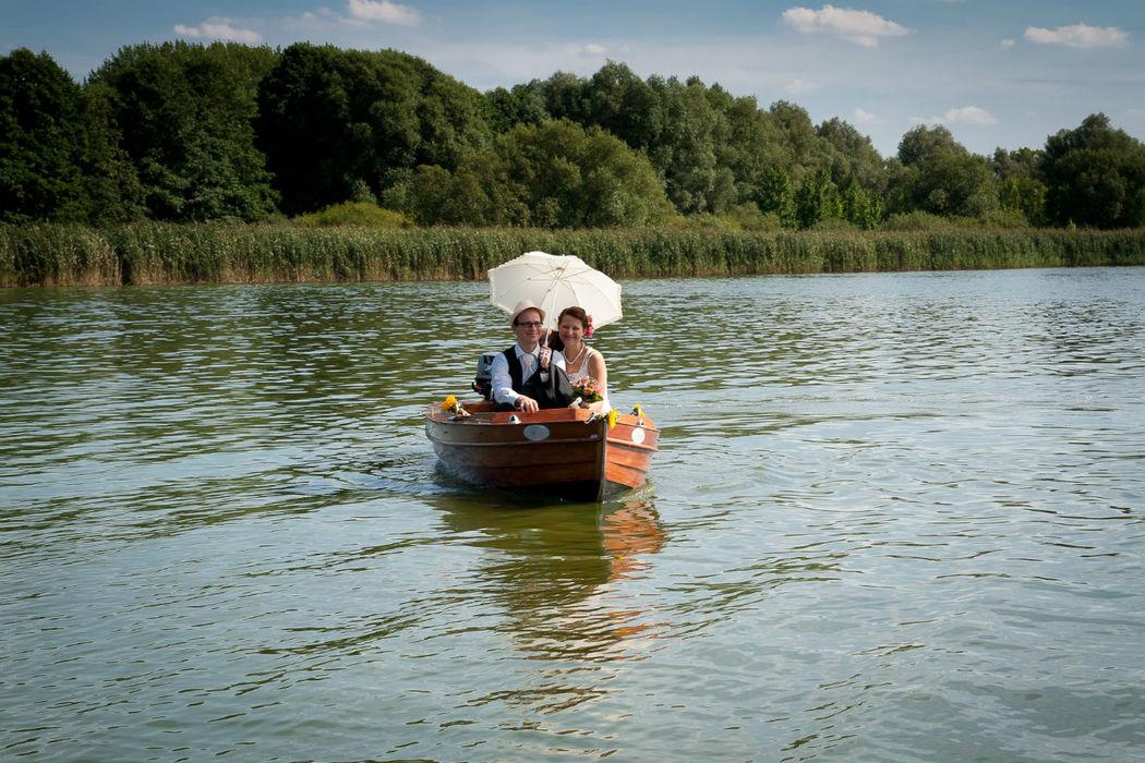 Beispiel: Romantische Hochzeit in Paretz, Foto: Storchenhof Paretz.