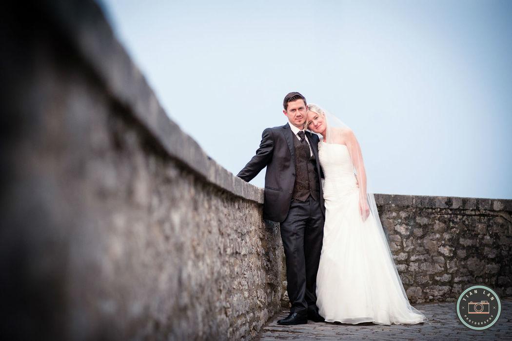 Beispiel: Portrait des Brautpaares, Foto: Tian Lan Photography.