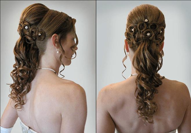 Beispiel: Top-Styling zur Hochzeit, Foto: Beauty Art Team.