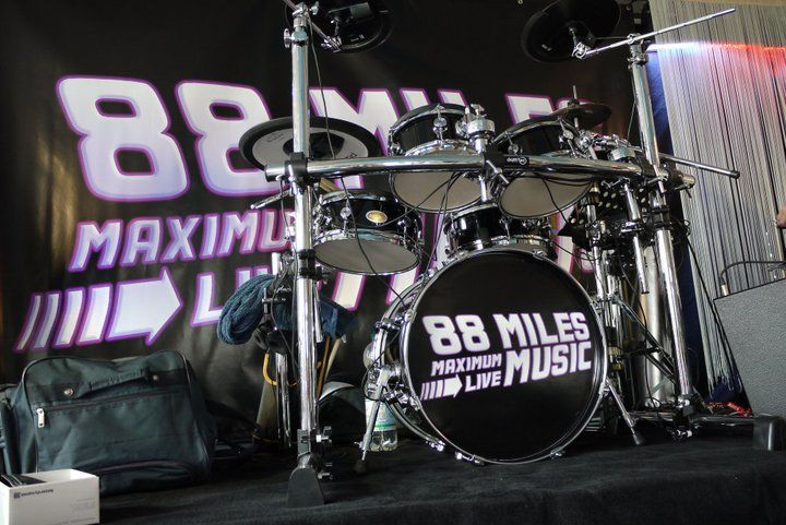 Beispiel: Bühne, Foto: 88 Miles.
