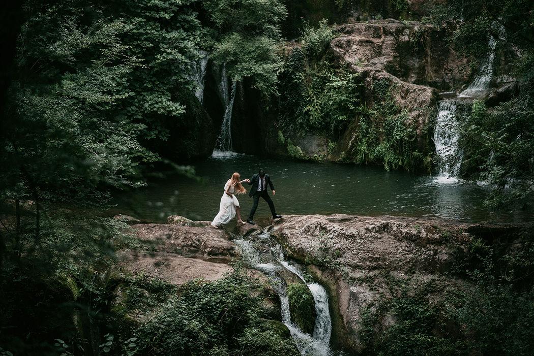 Boda romantic-forest de Dani y Erika