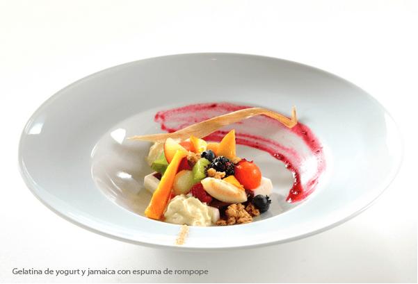 Menú con desayunos diversos - Foto Banquetes Ambrosía