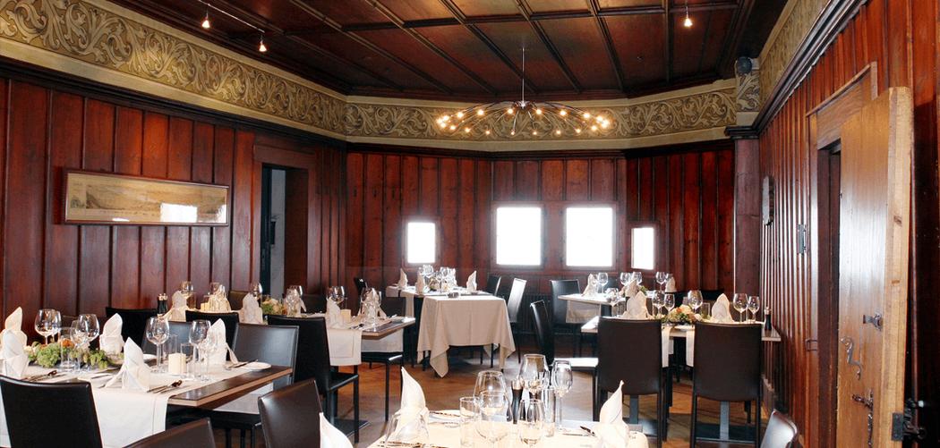Beispiel: Restaurant, Foto: Burg Hohenklingen.
