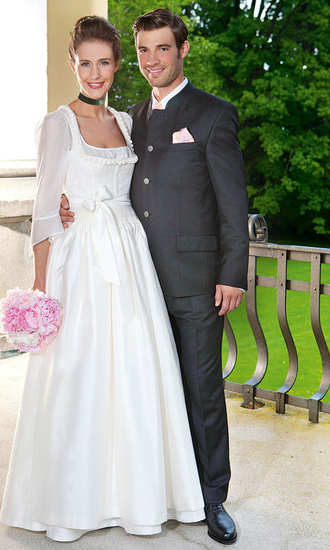 Beispiel: Das Dirndl zur Hochzeit, Foto: Gössl - Tracht heute.