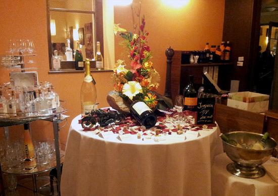 Beispiel: Hochzeits-Bankett, Foto: Felmayer's Gastwirtschaft.