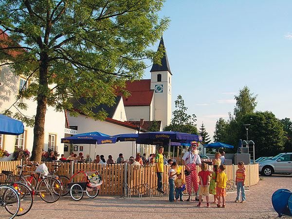 Beispiel: Terrasse, Foto: Landgasthof Reisinger.