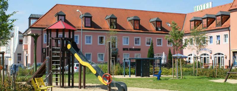 Beispiel: Spielplatz, Foto: AKZENT Hotel Am Husarenhof.