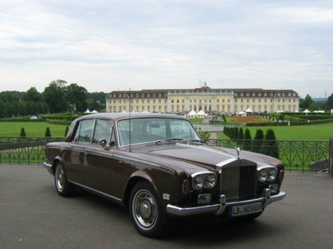 Beispiel: Rolls Royce, Foto: Royal Chauffer.